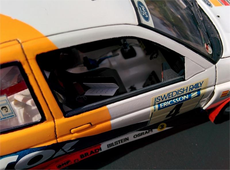 Ford escort de tamiya 1/24. Carlos Sainz y Luis Moya. File